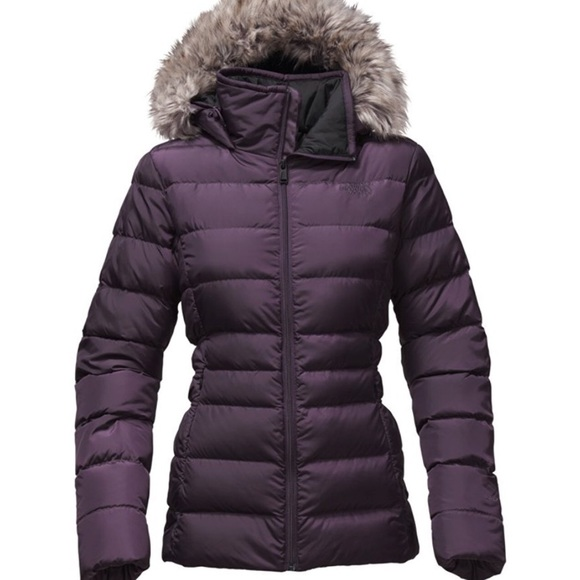 8f4c27a6e The North Face Women's Gotham Jacket 2 in Eggplant NWT
